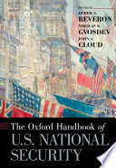 The Oxford Handbook of U S  National Security Book PDF