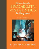 Miller & Freund's Probability and Statistics for Engineers Pdf/ePub eBook