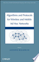 Algorithms and Protocols for Wireless and Mobile Ad Hoc Networks Book