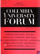 The Columbia University Forum