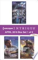 Harlequin Intrigue April 2016   Box Set 1 of 2