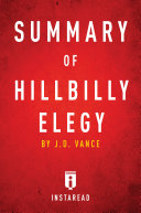 Summary of Hillbilly Elegy Pdf/ePub eBook