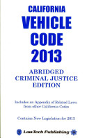 Vehicle Code 2013