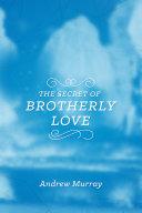 The Secret of Brotherly Love Pdf/ePub eBook