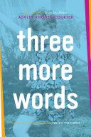 Three More Words Pdf/ePub eBook
