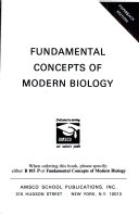 Fundamental Concepts of Modern Biology