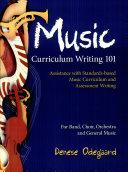 Music Curriculum Writing 101