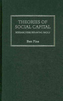 Theories of Social Capital Book