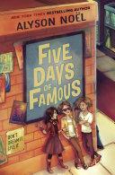 Five Days of Famous Pdf/ePub eBook