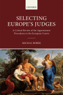 Selecting Europe s Judges