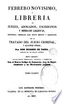 Febrero novisimo ó libreria de jueces, abogados y escribanos, 4