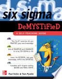 Six Sigma Demystified  A Self Teaching Guide