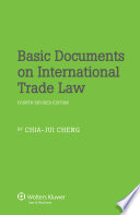 Basic Documents On International Trade Law