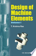 Design Of Machine Elements: