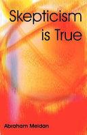 Pdf Skepticism Is True Telecharger