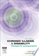 """Chronic Illness and Disability: Principles for Nursing Practice"" by Esther Chang, Amanda Johnson"
