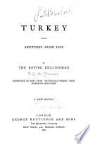 Turkey  Being Sketches from Life Book PDF