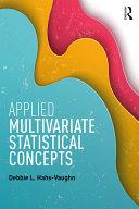 Applied Multivariate Statistical Concepts [Pdf/ePub] eBook