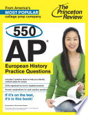 550 AP European History Practice Questions Book PDF