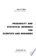 Probability and Statistical Inference for Scientists and Engineers