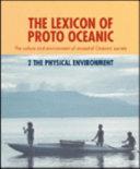 The Lexicon of Proto-Oceanic