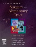 Shackelford s surgery of the alimentary tract  1