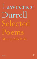 Selected Poems of Lawrence Durrell Pdf/ePub eBook