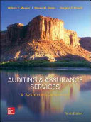 Auditing   Assurance Services  A Systematic Approach Book