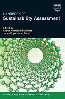 Handbook of Sustainability Assessment