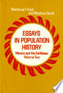 Essays in Population History