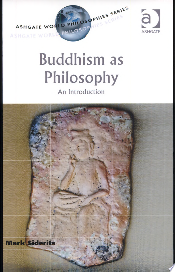 Buddhism as Philosophy