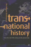 The Palgrave Dictionary of Transnational History