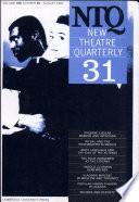 New Theatre Quarterly 31  Volume 8  Part 3