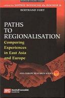 Paths to Regionalisation