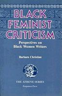 Black Feminist Criticism