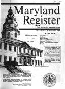 Maryland Register