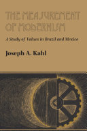 The Measurement of Modernism
