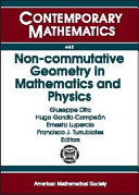 Non-commutative Geometry in Mathematics and Physics