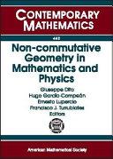 Non-commutative Geometry in Mathematics and Physics Pdf/ePub eBook