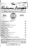 Pdf The Alabama Lawyer