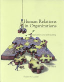 Cover of Human Relations in Organizations