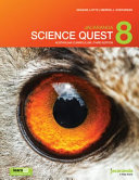 Cover of Jacaranda Science Quest 8 Australian Curriculum 3E LearnON and Print