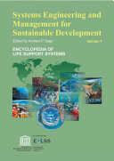 Systems Engineering and management for Sustainable Development   Volume I