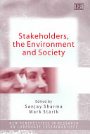 Stakeholders  the Environment and Society