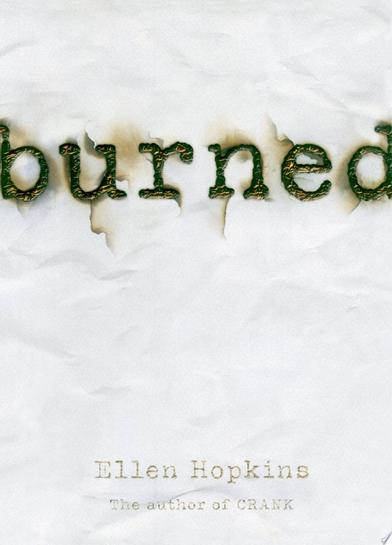 Burned banner backdrop
