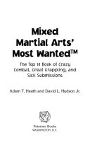 Mixed Martial Arts' Most Wanted