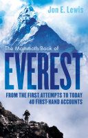 The Mammoth Book Of Everest