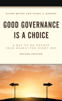 Good Governance is a Choice Pdf/ePub eBook