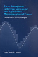 Recent Developments in Nonlinear Cointegration with Applications to Macroeconomics and Finance