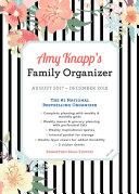 Amy Knapp 2018 Family Organizer
